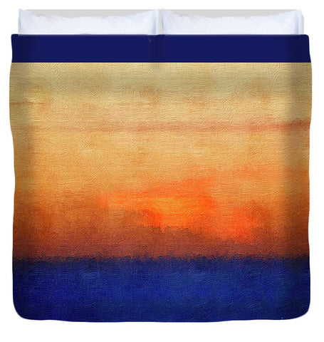 Harvest Setting - Duvet Cover