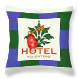 Hotel Valentino - Throw Pillow