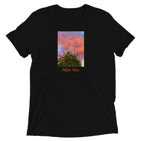 Black Palm Fire Short Sleeve T-shirt