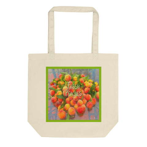 Fresh Peaches Eco Tote Bag