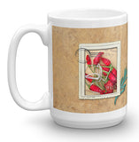 ITALIA Postage Stamp Coffee Mug