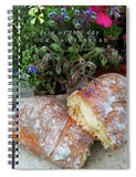 Our Daily Bread - Spiral Notebook