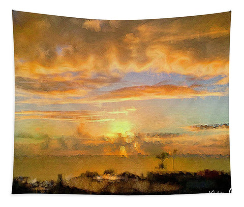 Painter's Landscape - Tapestry