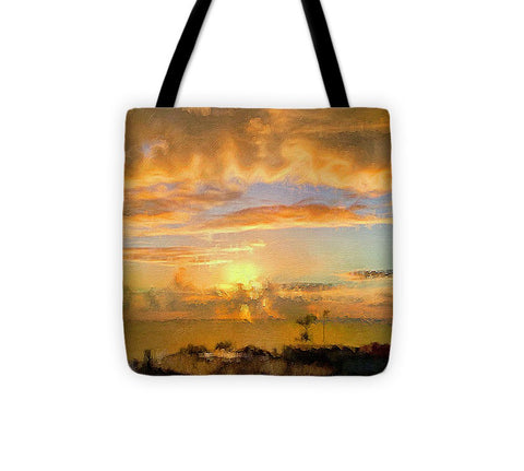 Painter's Landscape - Tote Bag