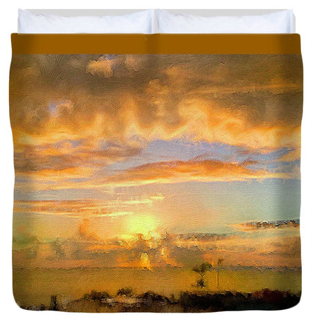 Painter's Landscape - Duvet Cover