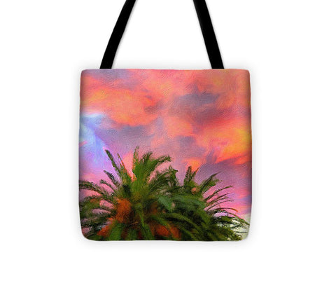 Palm Fire - Tote Bag
