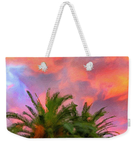 Palm Fire - Weekender Tote Bag