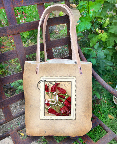 Mercato Bag — Italian Peppers/Cabbage Flowers