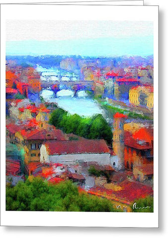 Ponte Vecchio - Greeting Card