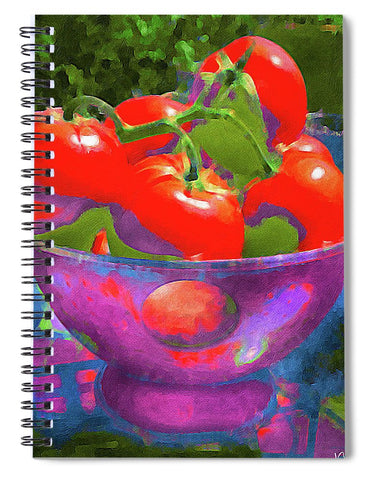 Ripe Tomatoes - Spiral Notebook