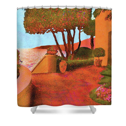 Ritz Cove - Shower Curtain