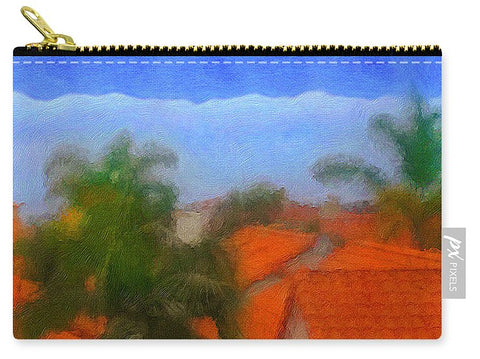Rooftop Blues - Carry-All Pouch