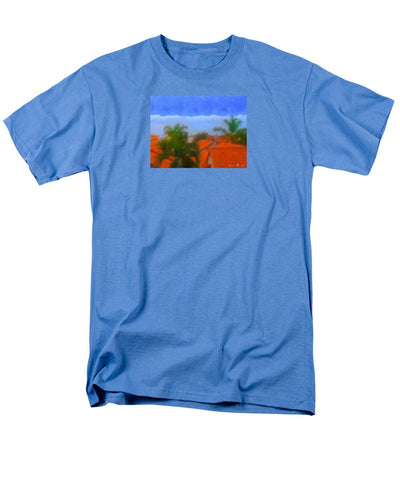 Rooftop Blues - Men's T-Shirt  (Regular Fit)