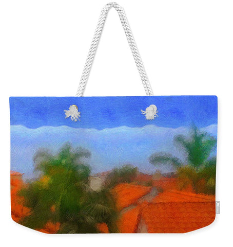 Rooftop Blues - Weekender Tote Bag