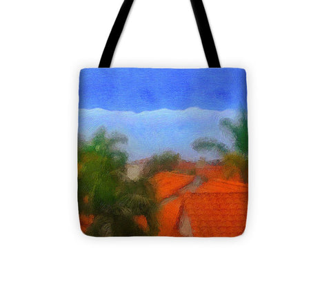 Rooftop Blues - Tote Bag
