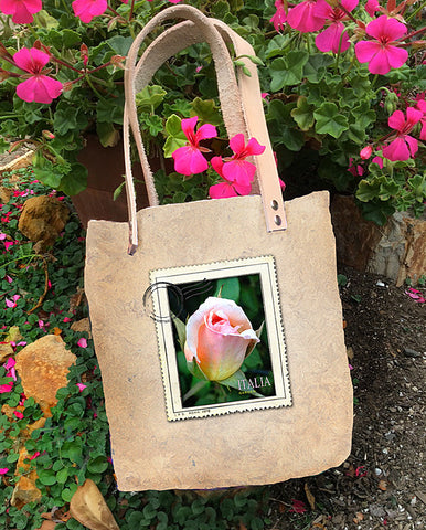Mercato Bag — Rose Garden/Arugula Flowers