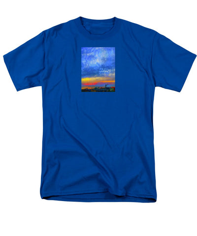 Twilight Blues - Men's T-Shirt  (Regular Fit)