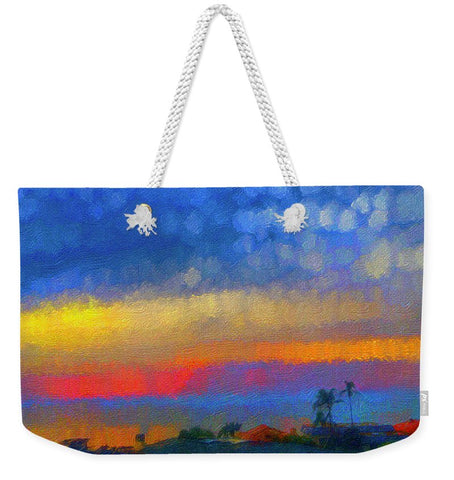 Twilight Blues - Weekender Tote Bag