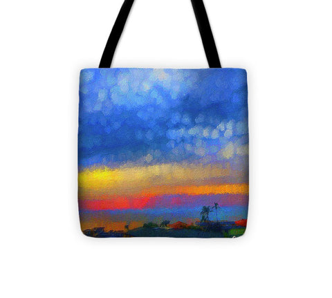 Twilight Blues - Tote Bag