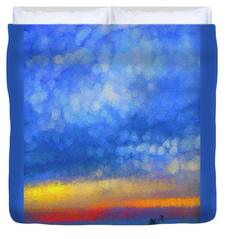 Twilight Blues - Duvet Cover