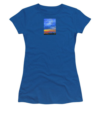 Twilight Blues - Women's T-Shirt