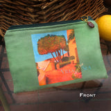 Villa By The Sea Cosmetic Bag