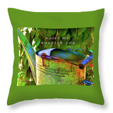 Watering Can - Throw Pillow