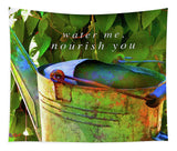 Watering Can - Tapestry