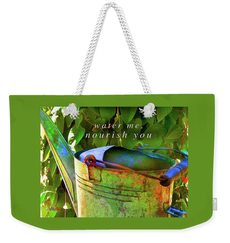 Watering Can - Weekender Tote Bag