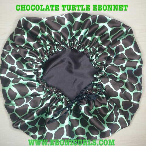 Chocolate Turtle Shell Ebonnet