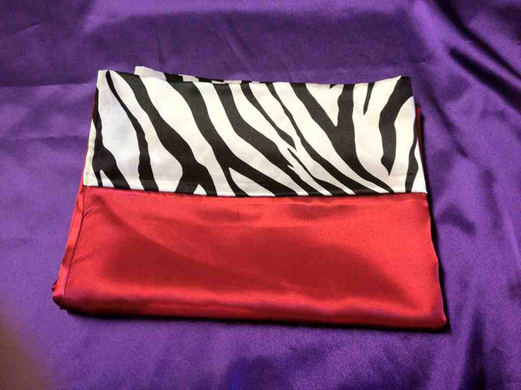 Red Zebra Pillowcase