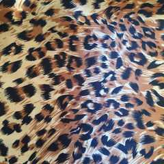 Leopard Satin Lining for Turban