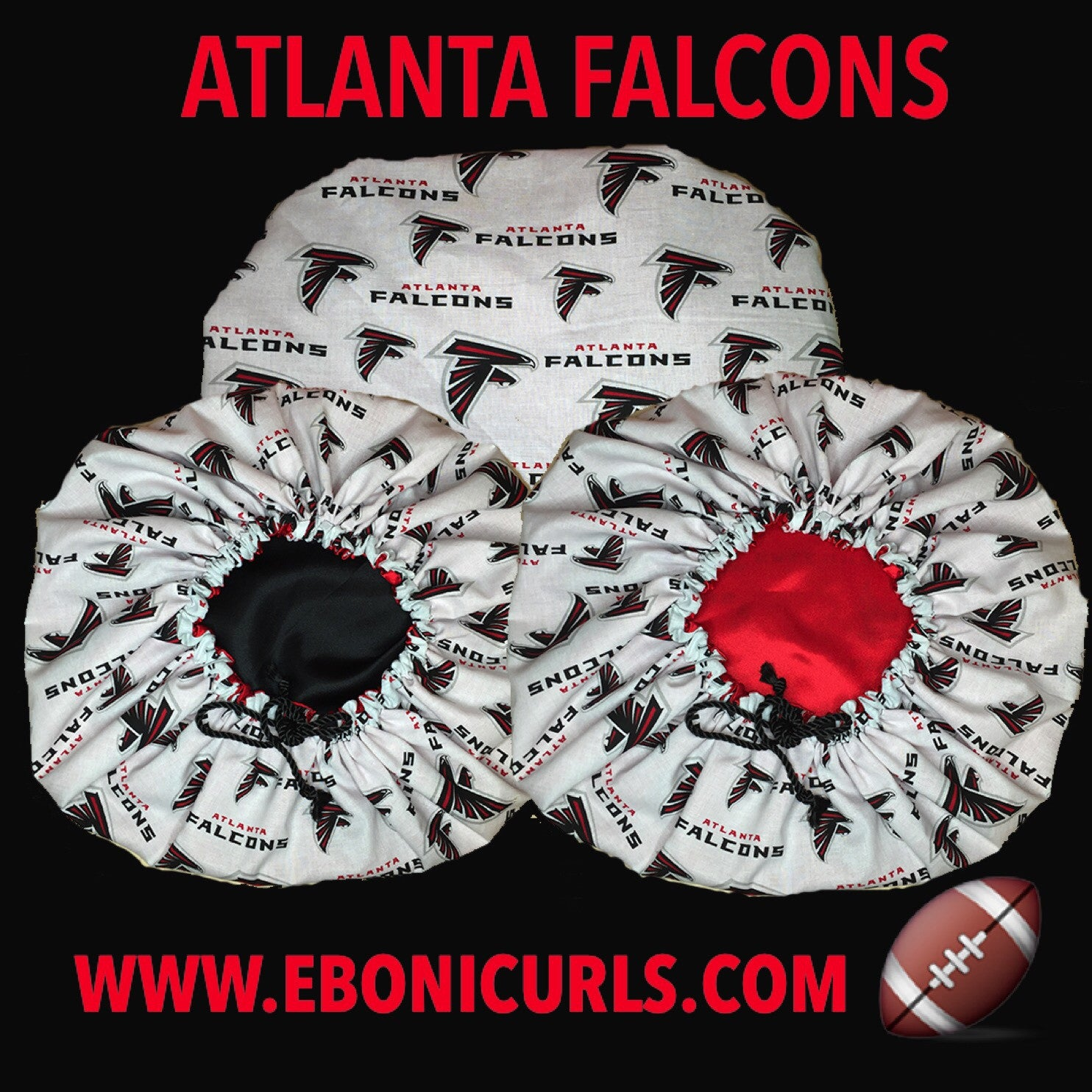 Falcons Fans Ebonnet