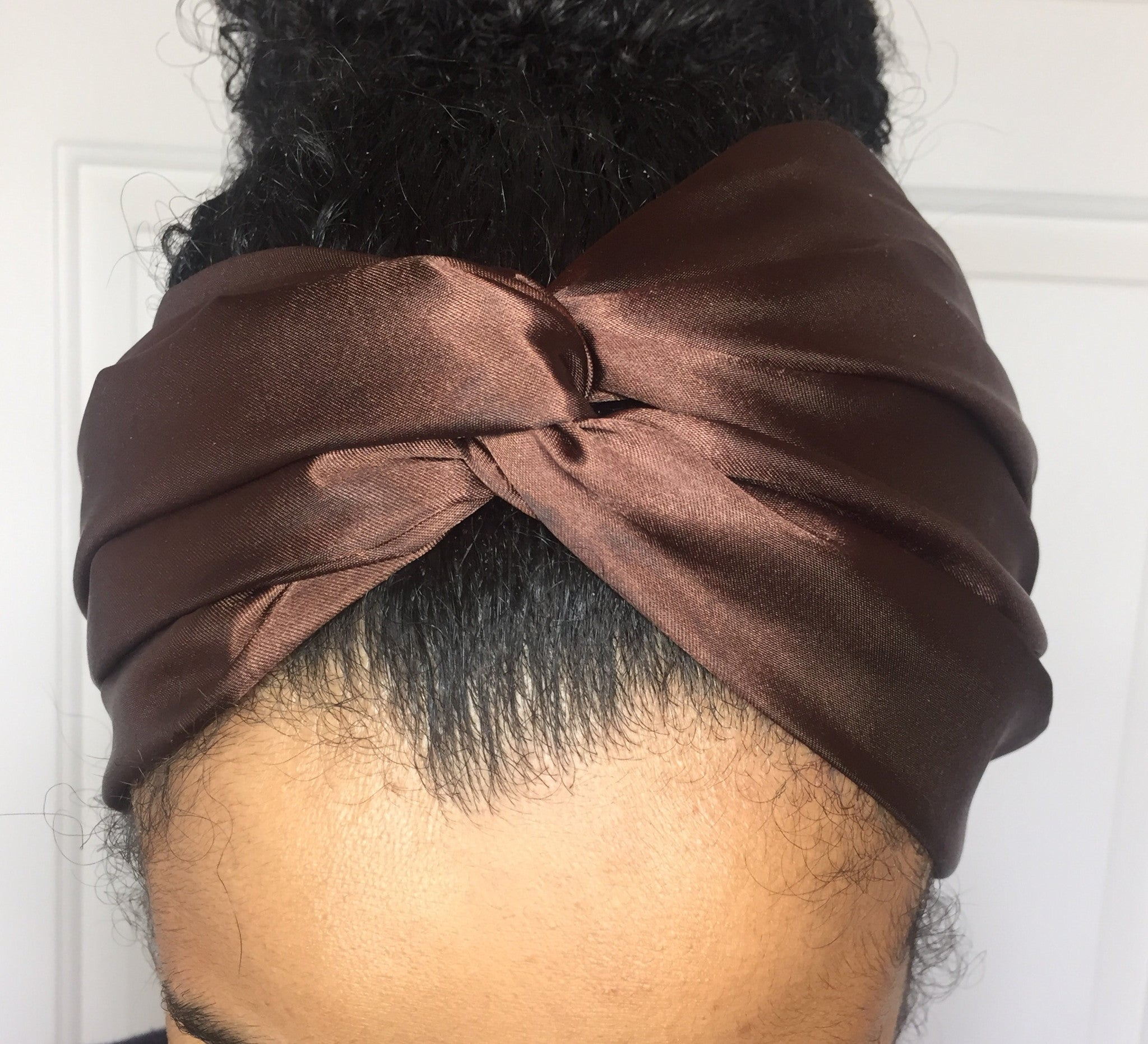 Chocolate Satin eturban