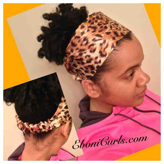 Golden Leopard Headband