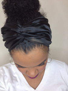 Satin Black eTurban