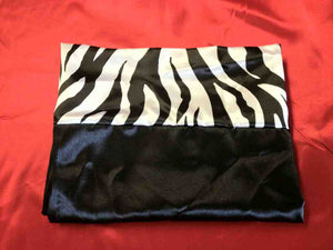 Black & White Zebra Pillowcase