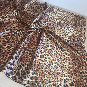 Extra Large Leopard Square Scarf