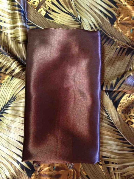 Chocolate Pillowcase