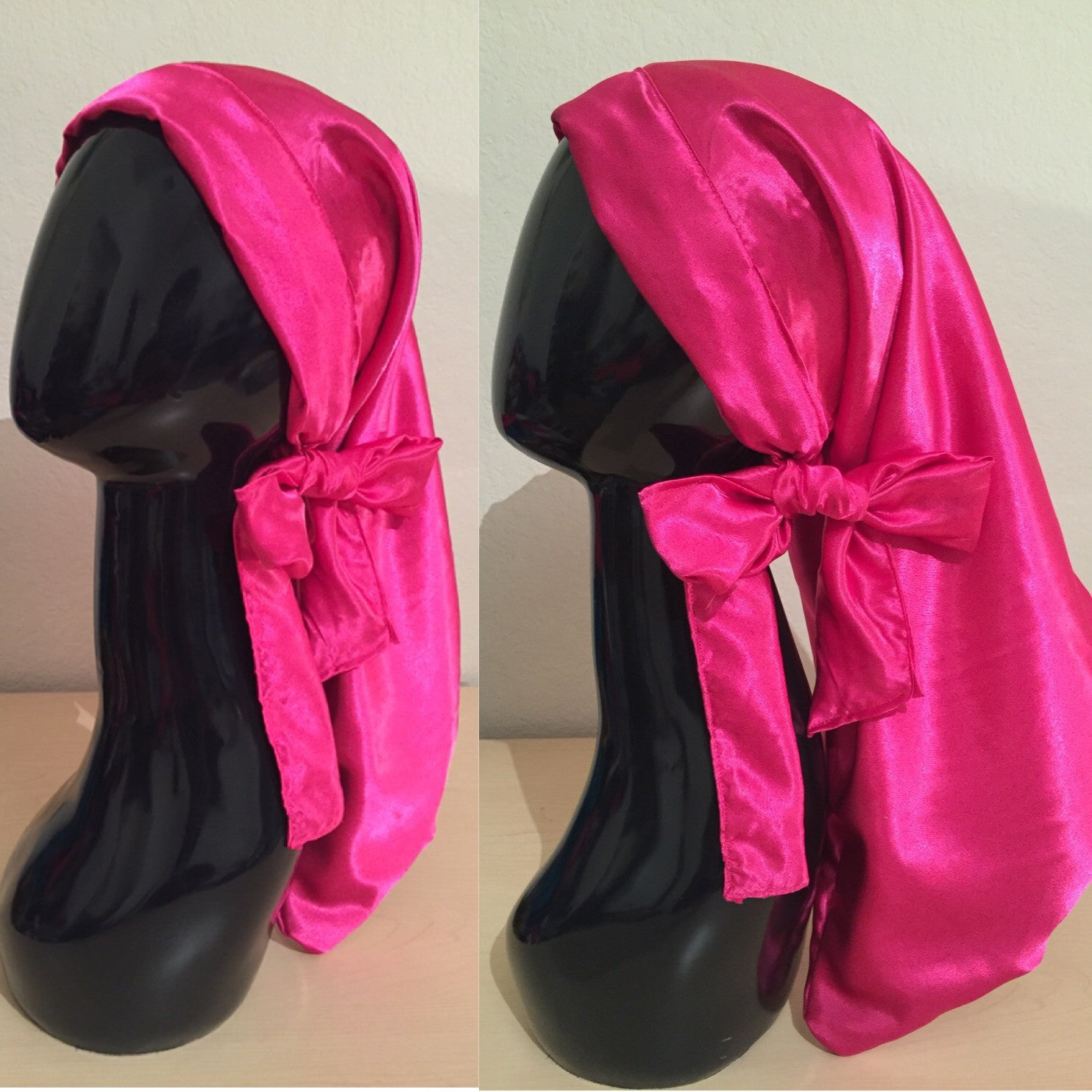 Hot pink Pocket bonnet
