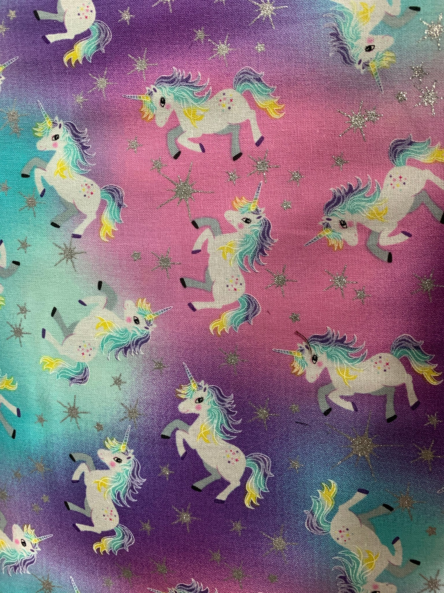 Frosted Unicorn pillowcase