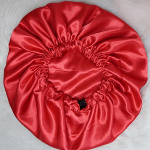 Solid Red Bonnet