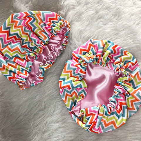 Babies Toddlers Chevron Shower Cap