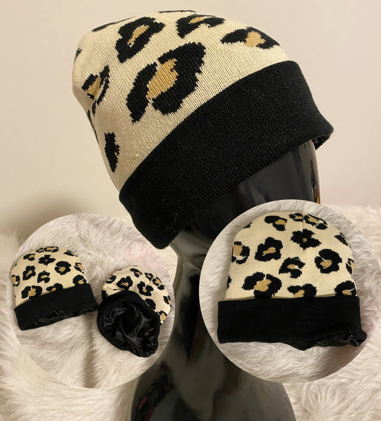 Cheetah Winter Hat