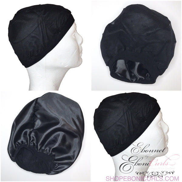 Satin Lined Wig Cap
