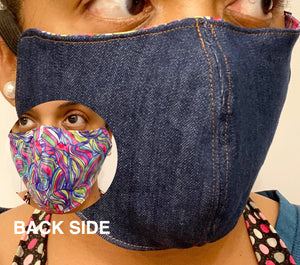Protective Face Mask - Denim