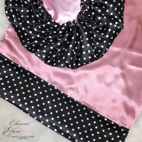 Polka Dot & Pearl Pink Set