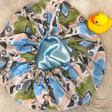 Powder Blue Shower Cap