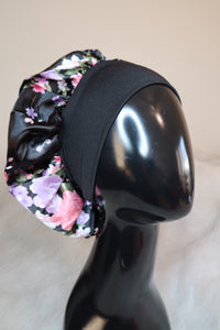 Black Headband Bonnet