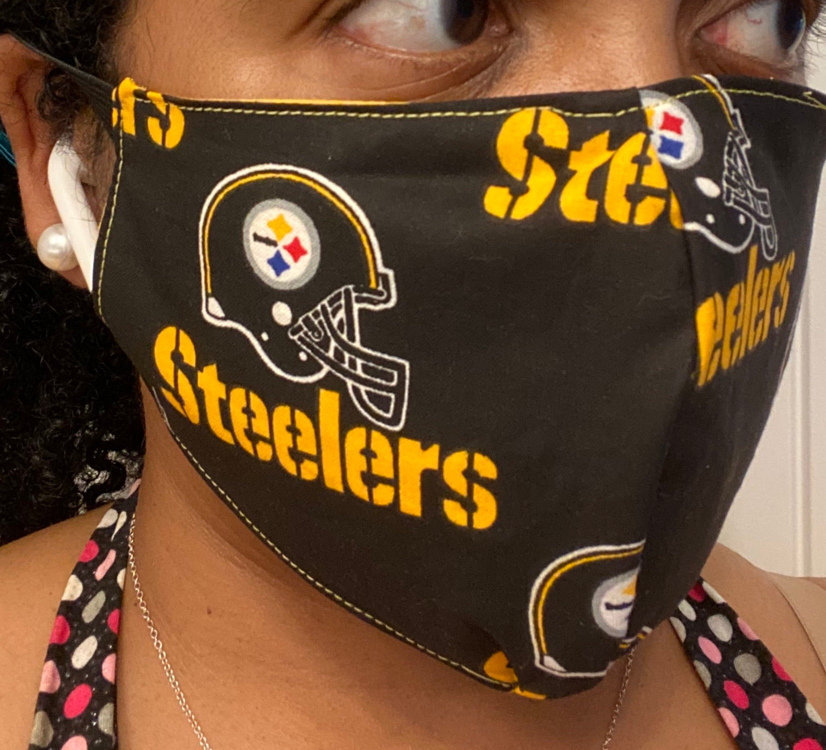 Steelers Mask